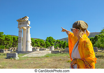 Asklepieion Temple Tourist