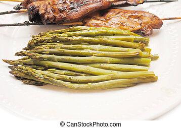 asparago, cotto