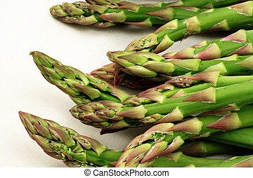 Asparagus Extreme Close Up