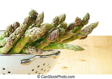 Asparagus fresh from market