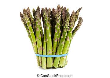 asparagus - Green Asparagus close up shot