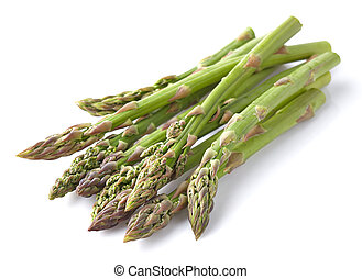 Asparagus in a wooden background