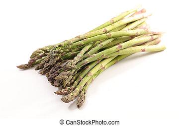 asparagus on white background
