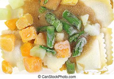 Asparagus Squash Ravioli Dinner Frozen