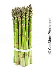 Asparagus - Close up of fresh green organic asparagus