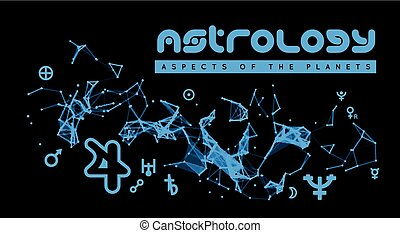 aspects, astrology., planètes