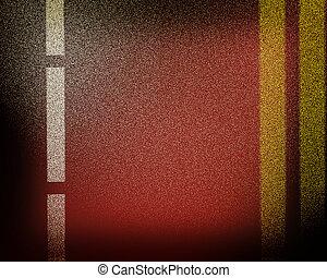 Asphalt abstract background . 3D illustration. Vintage style.