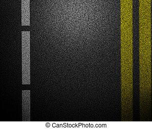 Asphalt abstract background
