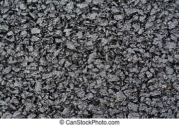 Asphalt layer - New asphalt layer - granular abstract...