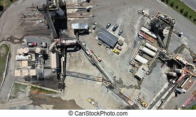 Asphalt processing and recycling plant, transformation into ...