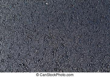 Asphalt - Recently applied asphalt. Background and texture...