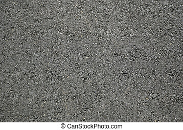 Asphalt - Bitumen road fresh and new. Close up