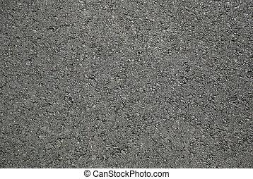 Asphalt Tar Pavement - Asphalt - Bitumen road fresh and new...