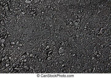 Fresh asphalt high detaled texture close up