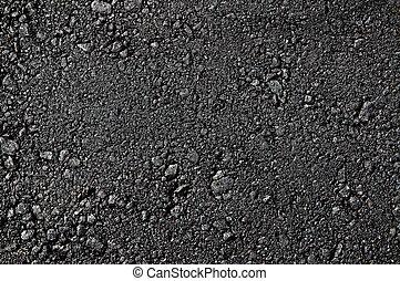 Fresh asphalt high detaled texture close up