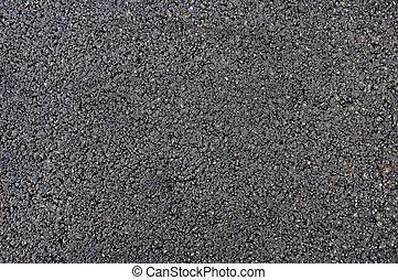 fresh made asphalt bitumen tar texture