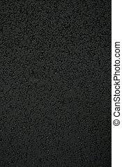 Texture of new asphalt