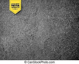 Asphalt texture. Vector background.