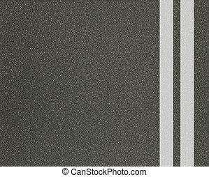 asphalt texture with lines