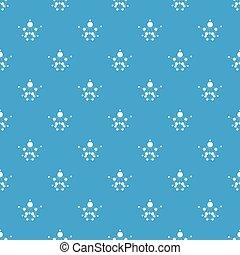 Aspirin pattern vector seamless blue