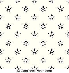 Aspirin pattern vector seamless