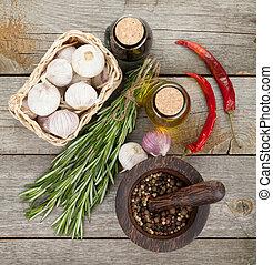 assaisonnement, épices, herbes