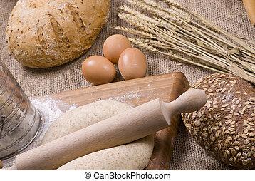 assando, pão