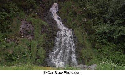 Assaranca Waterfall, County Donegal, Ireland - Native...