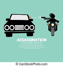 Assassination. - Assassination Shooting From The Motorcycle...