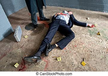 assassinato, vítima