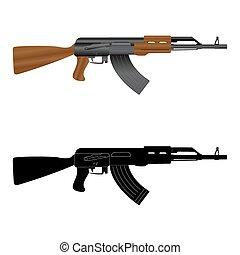 Assault rifle  Kalashnikov  AK-47