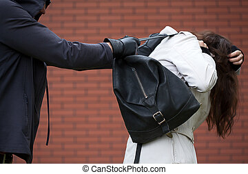 Assaulting a student