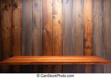 asse, asse, fondo, legno, mensola, parete