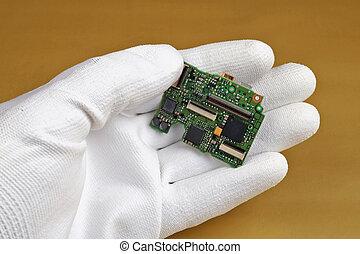 asse, qualità, controlli, circuito stampato, digitale, isolato, macchina fotografica, tecnico, moderno
