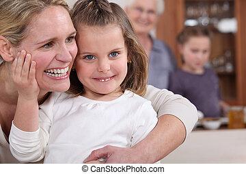 assemblea, famiglia, amare