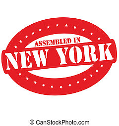 Assembled in New York