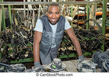 assembling automotive parts