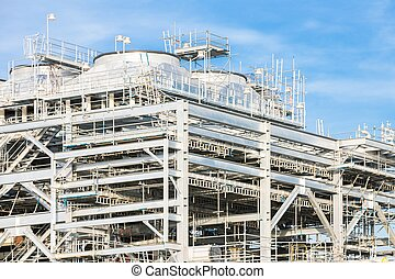 liquefied natural gas Refinery Factory - Assembling of ...