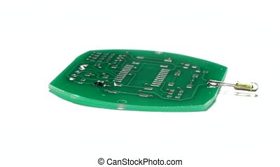 Assembling the PCB. - Printed circuit board and electronic...