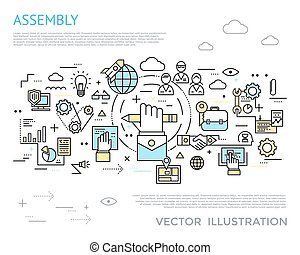 Assembly Horizontal Concept