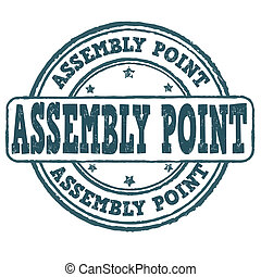 Assembly point stamp