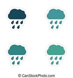 Weather clipart kawaii weather clipart kawaii rain clipart | Etsy | Kawaii  weather, Rain clipart, Weather clipart