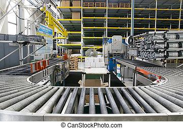 Assembly roller line