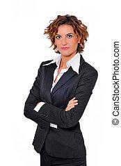 Assertive Business Woman