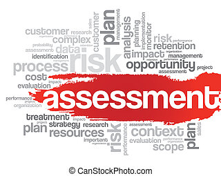 Assessment Word Cloud - Word Cloud Assessment related tags, ...