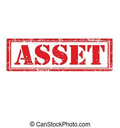 Asset-stamp