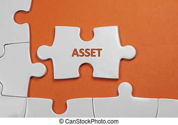 Asset Text - Business Concept - Innovative word on white...