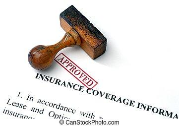 assicurazione, copertura