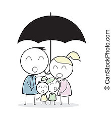 assicurazione, famiglia