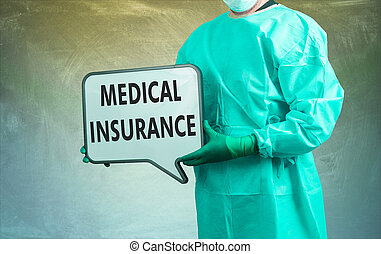 assicurazione medica, dottore